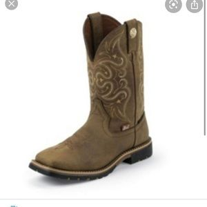 Justin - Leather Cowboy boots